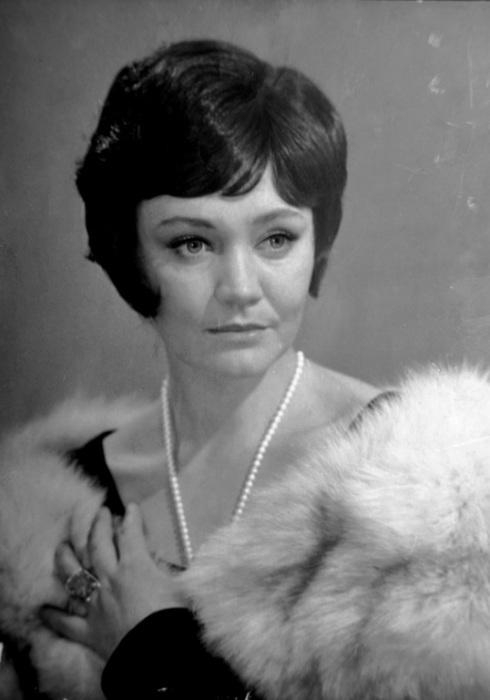 Лариса Лужина. / Фото: из архива Романа Серова