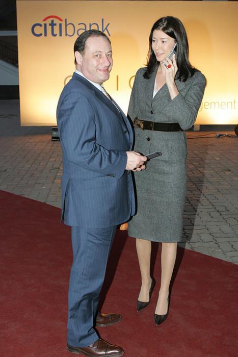 Ольга и Владимир Слуцкер. / Фото: www.woman.ru