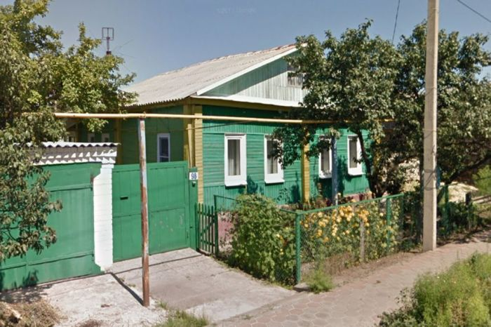 Подлинный дом семьи Ерошенко, в котором и сегодня живут люди. / Фото: www.oskol.city