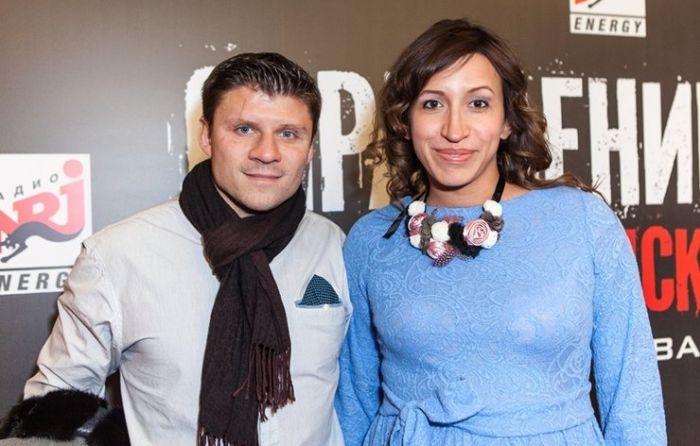 Елена Борщёва и Валерий Юшкевич. / Фото: www.cosmopolitan.ru