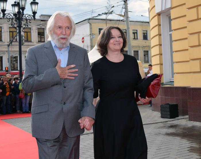Станислав Любшин с женой Ириной. / Фото: www.kino-teatr.net
