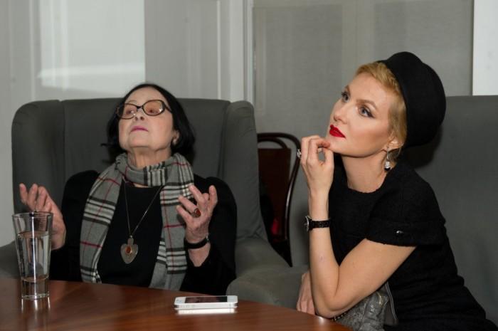 Кира Муратова и Рената Литвинова. / Фото: www.alyaklimova.com