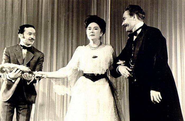 Любовь Добржанская в спектакле «Вишнёвый сад», 1965 год.  / Фото: www.maxpark.com