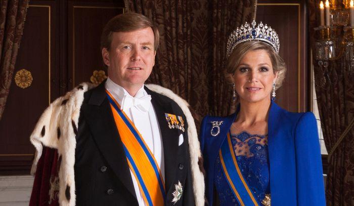 Королева Максима и король Виллем-Александр. / Фото: www.teamverband.nl