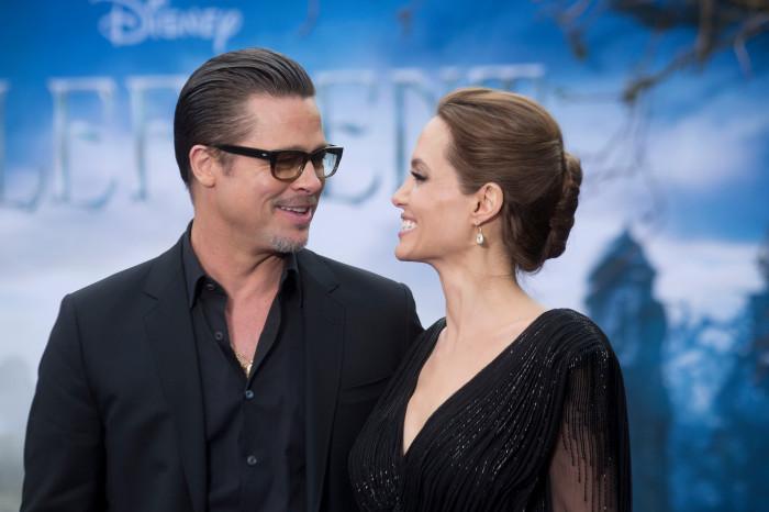 Брэд Питт и Анджелина Джоли.  / Фото: www.thesun.co.uk