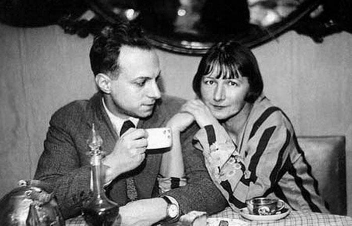 Рина Зеленая и Константин Топуридзе. / Фото: www.m.weekend.rambler.ru