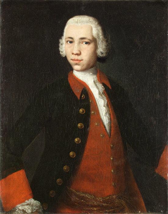 М. Л. Колокольников, «Портрет Дмитрия Алексеевича Резанова», 1752 год. / Фото: www.booksite.ru