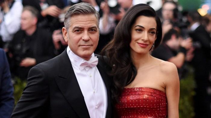 Джордж и Амаль Клуни пока не показывают своих детей. / Фото: www.starnote.ru