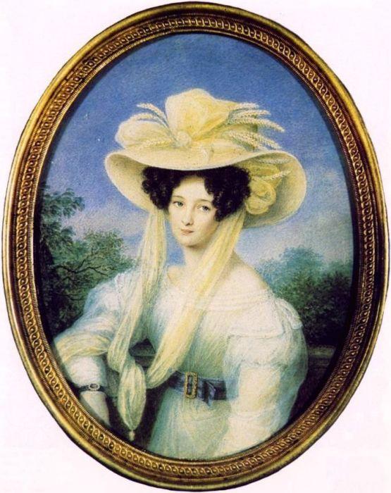 Элеонора Ботнер, первая жена Фёдора Тютчева. / Фото: www.900igr.net