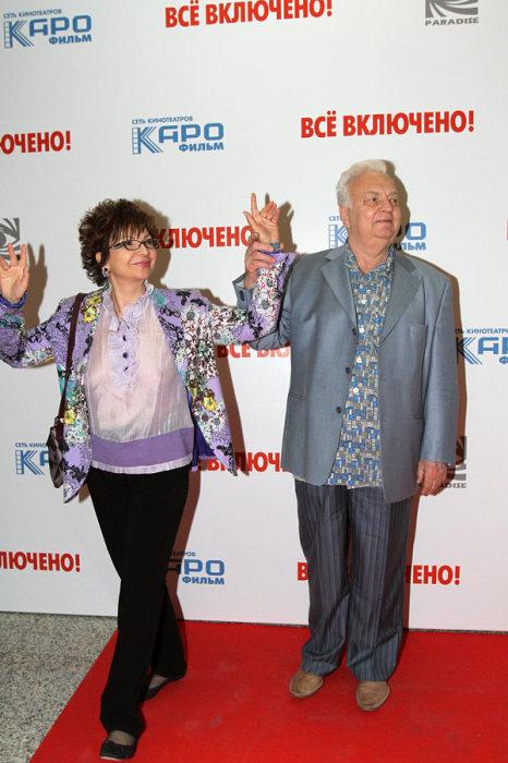 Роксана Бабаян и Михаил Державин. / Фото: www.иксмюзик.рф
