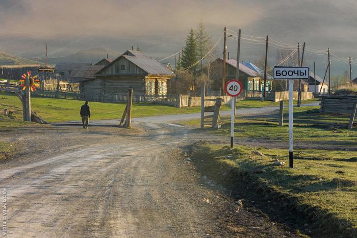 Село Боочи. / Фото: www.altai-photo.ru
