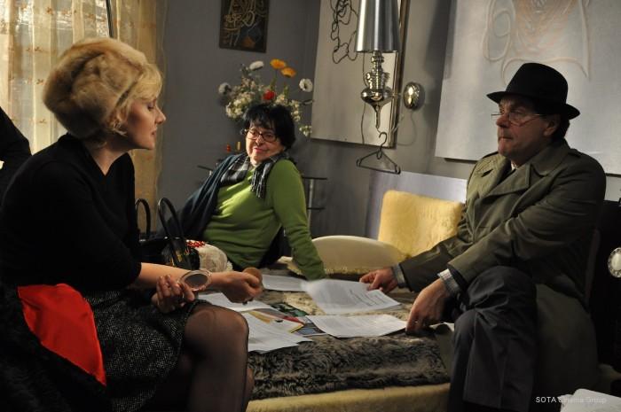 На съёмках фильма «Вечное возвращение». / Фото: www.odessa-life.od.ua