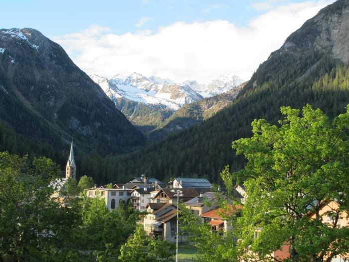 Швейцарская деревня Бергюн. / Фото: www.nashagazeta.ch
