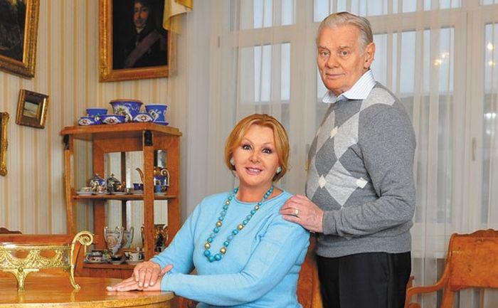 Наталья Селезнёва и Владимир Андреев. / Фото: www.tele.ru