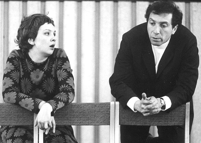 Сергей Юрский и Наталья Тенякова. / Фото: www.kino-teatr.ru