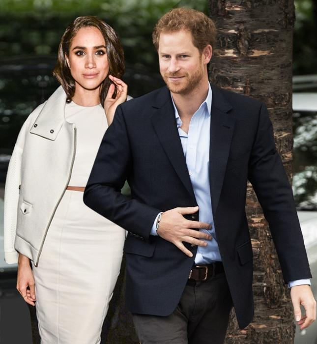 Принц Гарри и Меган Маркл. / Фото: www.woman.ru
