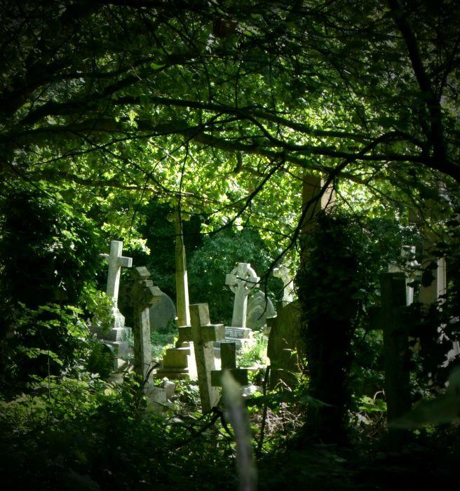 Кладбище Хайгейт. / Фото: www.blogspot.com