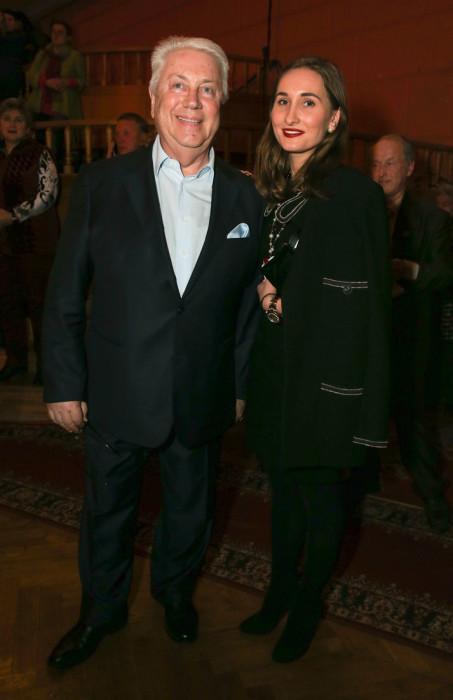 Владимир и Анастасия Винокур. / Фото: www.woman.ru