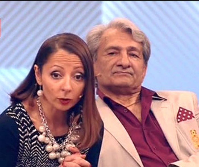 Василий Васильев и его дочь Кнея. / Фото: www.1tv.ru