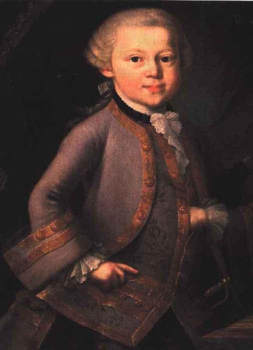 Вольфганг Амадей Моцарт. / Фото: www.fanpop.com