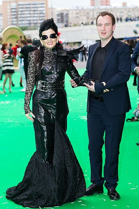 Диана Гурцкая и Петр Кучеренко. / Фото: www.spletnik.ru