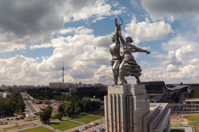 «Рабочий и колхозница», скульптор Вера Мухина. / Фото: www.kudago.com