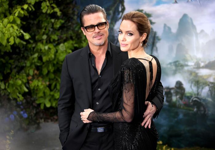 Брэд Питт и Анджелина Джоли.  / Фото: www.usmagazine.com