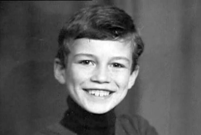 Андрей Чернышов в детстве. / Фото: www.kaifovo.info