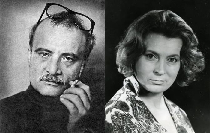 Георгий Данелия и Любовь Соколова. / Фото: www.stuki-druki.com