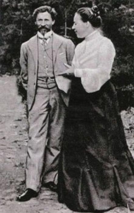 Илья Репин и Наталья Нордман. / Фото: www.mtdata.ru