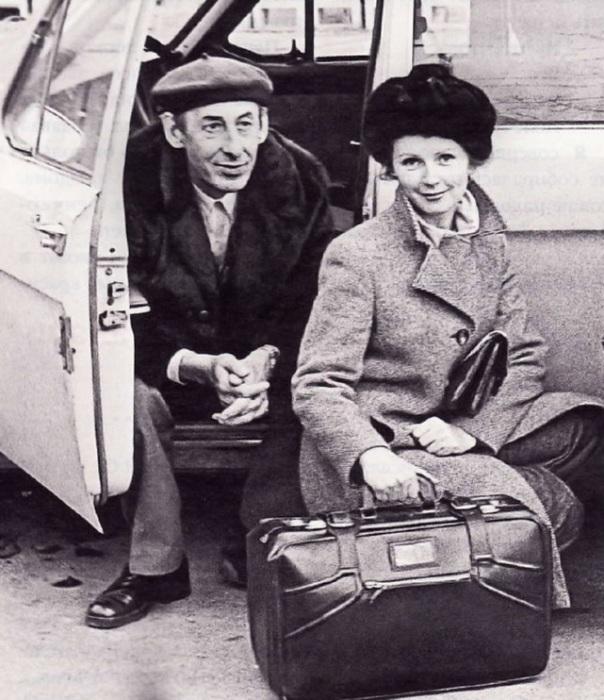 Владимир Басов и Валентина Титова. / Фото: www.persons-info.com