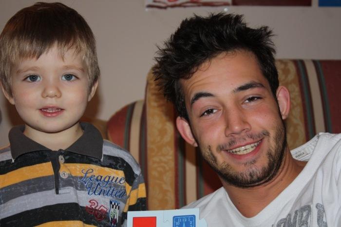 Елисею было всего 5 лет, когда погиб Даниил. / Фото: www.howstar.ru