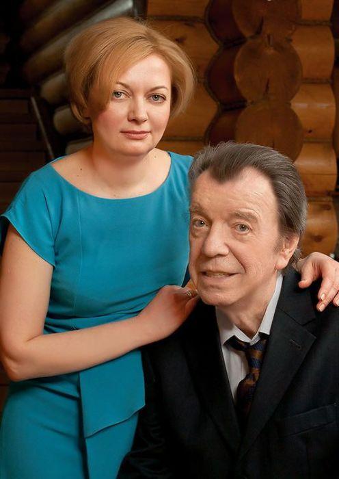 Вячеслав Шалевич с женой Татьяной. / Фото: www.7days.ru