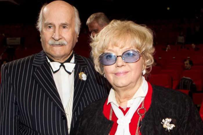 Владимир Зельдин с женой Иветтой. / Фото: www.sb.by