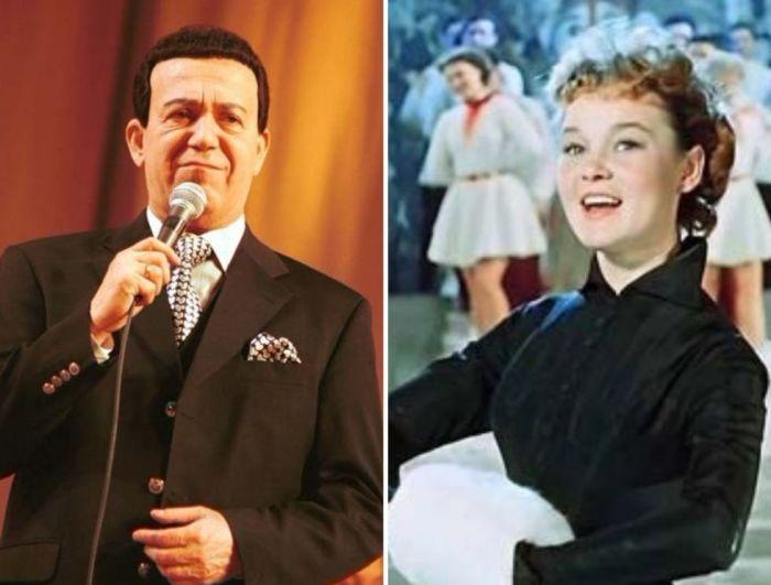 Иосиф Кобзон и Людмила Гурченко. / Фото: www.eg.ru