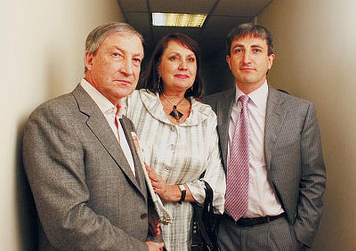 Семён Альтов с женой и сыном. / Фото: www.liveinternet.ru