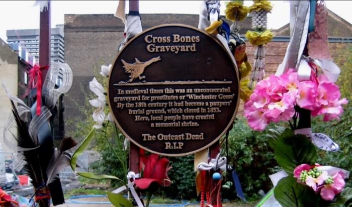 Знак на кладбище Скрещенных костей. / Фото: www.byfin.by