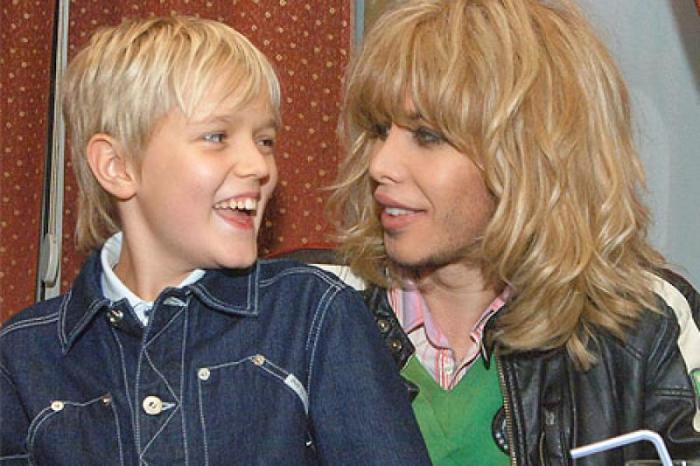 Сергей Зверев с сыном. / Фото: www.rusdialog.ru
