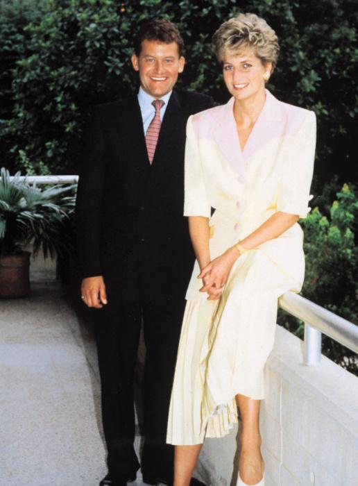 Пол Баррел и принцесса Диана. / Фото: www.indexvas.hu