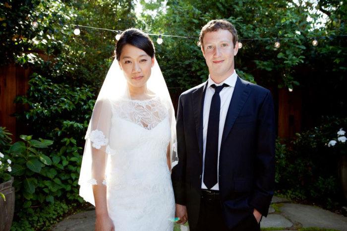 Свадьба Марка Цукерберга и Присциллы Чан. / Фото: www. denizhome.com