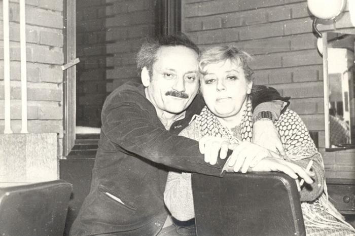 Семен Фарада и Марина Полицеймако. / Фото: www.wrldlib.ru
