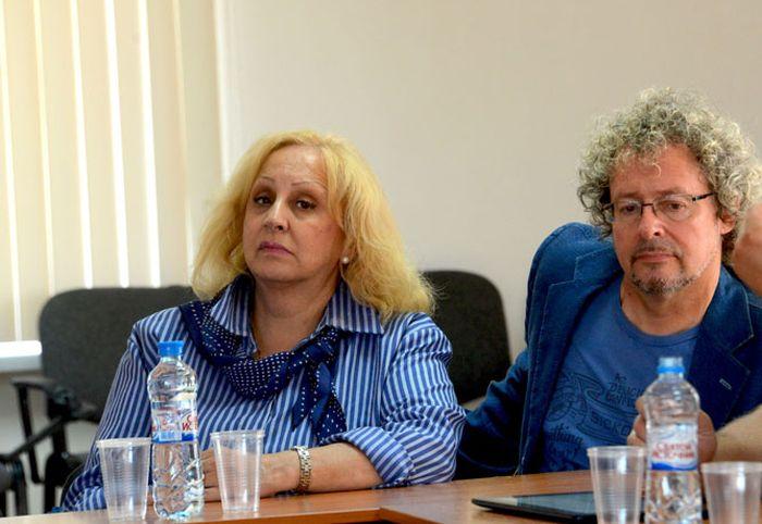 Лора Квинт и Андрей Билль. / Фото: www.isi-vuz.ru