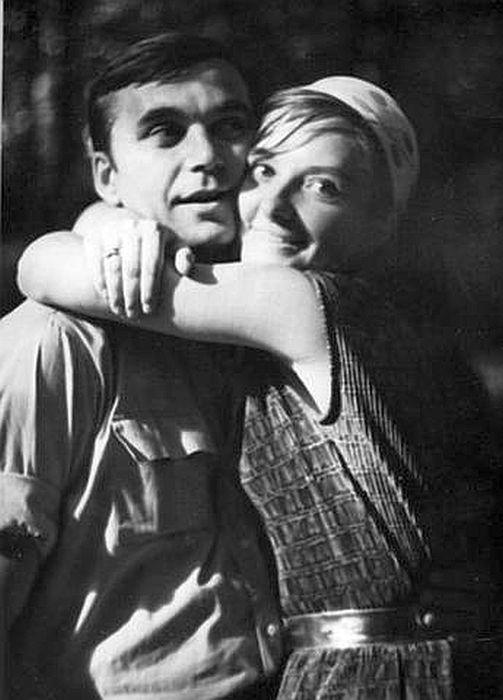 Лариса Шепитько и Элем Климов. / Фото: www.vm.ru
