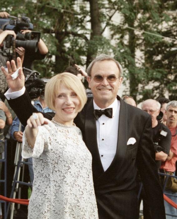 Инна Чурикова и Глеб Панфилов. / Фото:   www.mediadum.com