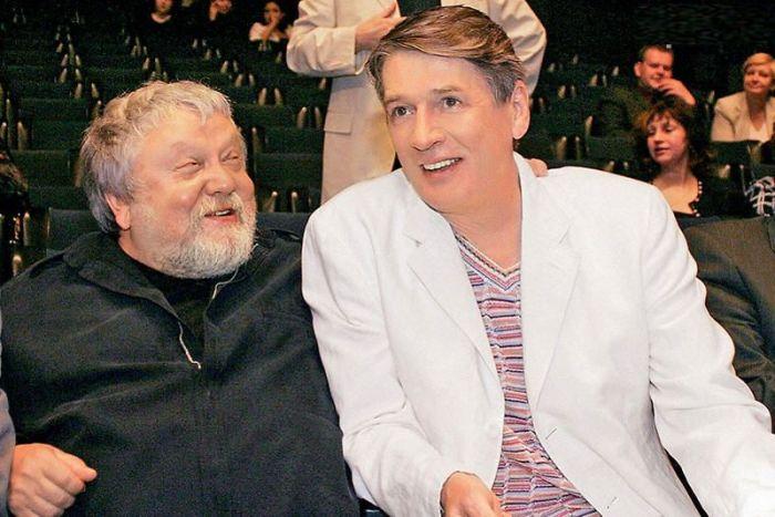 Сергей Соловьёв и Александр Абдулов. / Фото: www.7days.ru