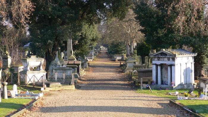 Кладбище Кенсал-Грин. / Фото: www.loyal-travel.com