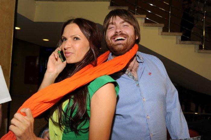 Эвелина Блёданс и Александр Смирнов. / Фото: www.twimg.com