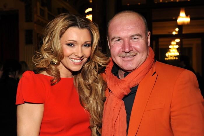 Анжелика и Николай Агурбаш. / Фото: www.woman.ru