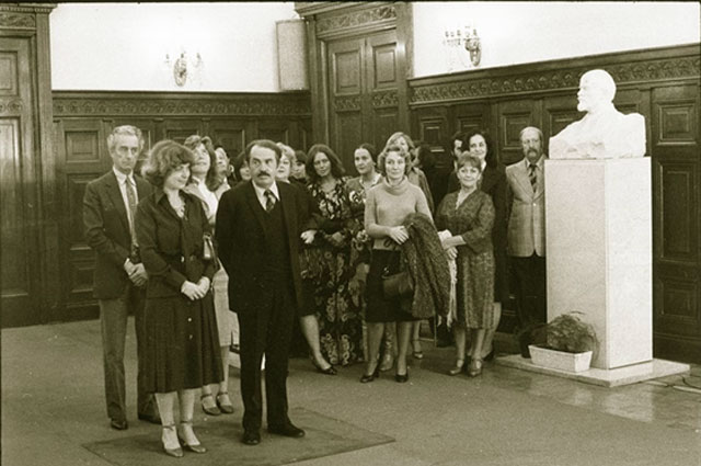 Тонино Гуэрра и его жена Элеонора Яблочкина. 1977 год. / Фото: www.russianlook.com