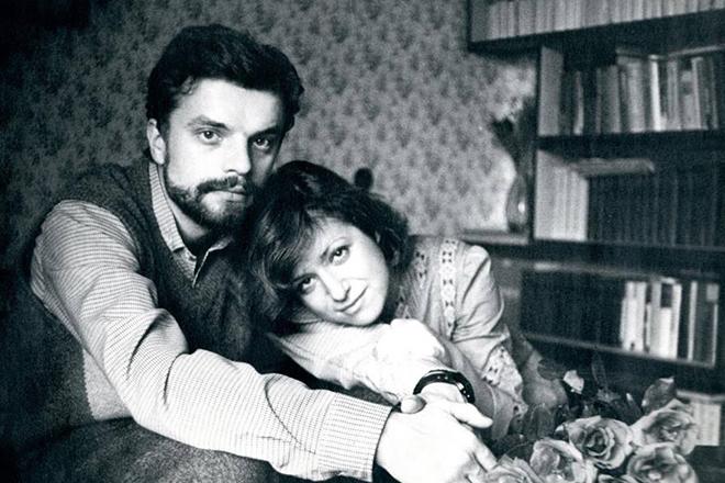 Леонид Парфёнов и Елена Чекалова в молодости. / Фото: www.24smi.org